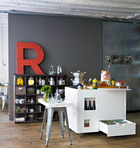astuces pour petites cuisines inspiration cuisine. Black Bedroom Furniture Sets. Home Design Ideas