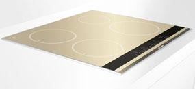 Bosch met de l 39 or dans la cuisine inspiration cuisine - Table vitroceramique blanche ...