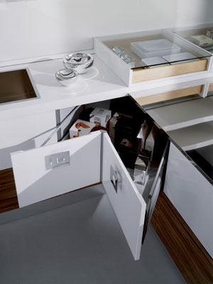 Amenagement angle cuisine table de cuisine for Amenagement armoire cuisine