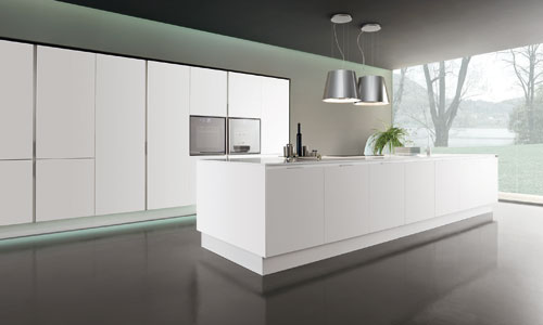 cuisine design sans poign es. Black Bedroom Furniture Sets. Home Design Ideas