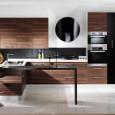 Meubles de cuisine : bois et verre recréés