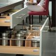Des tiroirs tout en bois pour la cuisine