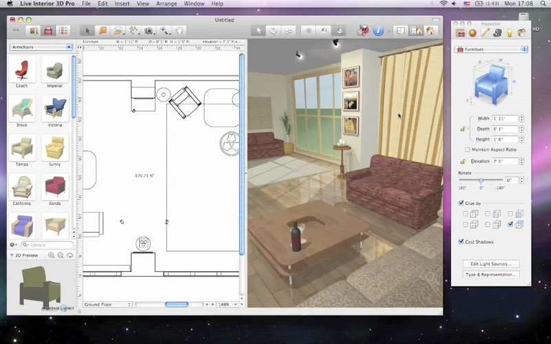 Container home design software for ipad joy studio for Cuisine plan 3d