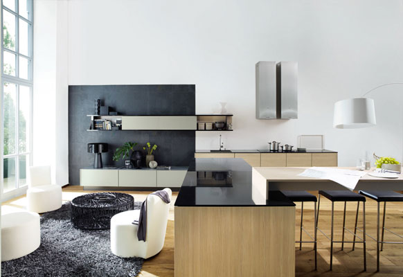 la cuisine s jour de poggenpohl inspiration cuisine le magazine de la cuisine quip e. Black Bedroom Furniture Sets. Home Design Ideas