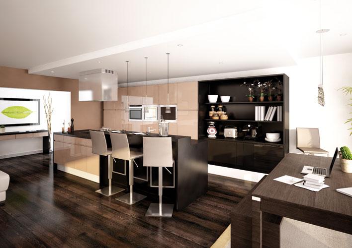 palerme la nouveaut des cuisines vivre inspiration. Black Bedroom Furniture Sets. Home Design Ideas