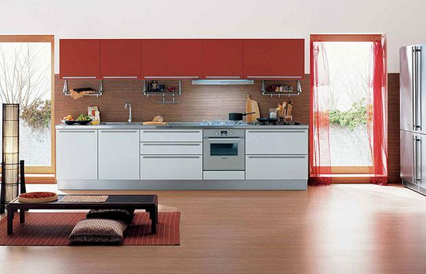 le m lamin le mat riau l mentaire de la cuisine inspiration cuisine le magazine de la. Black Bedroom Furniture Sets. Home Design Ideas