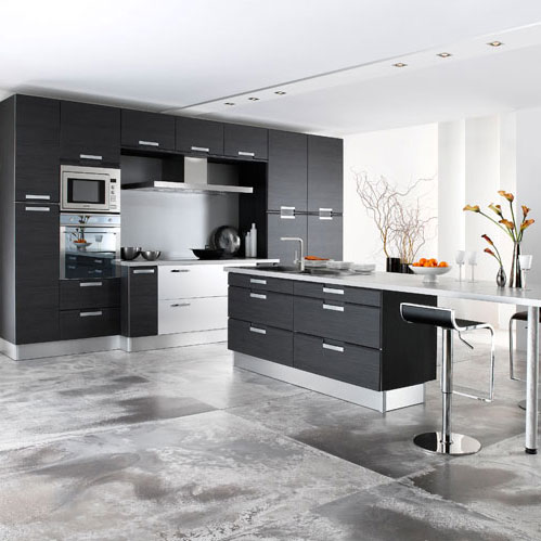 gain de place une cuisine xavie 39 z dans l 39 entr e inspiration cuisine. Black Bedroom Furniture Sets. Home Design Ideas