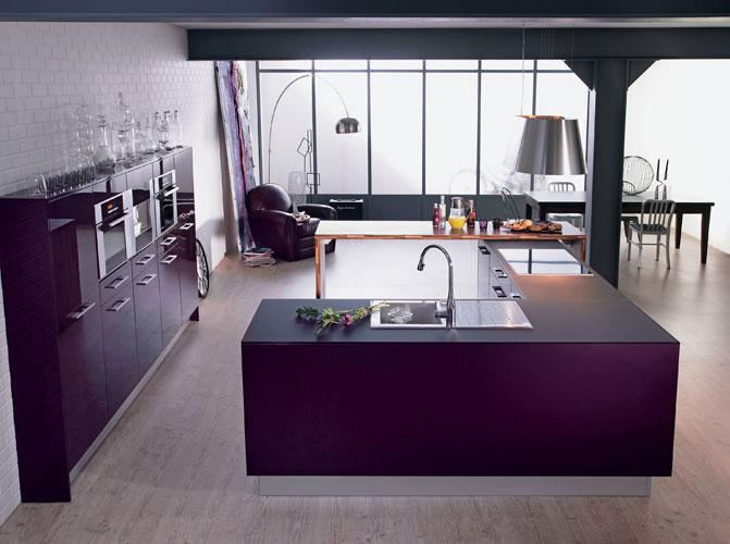 La cuisine ouverte le nouveau salon inspiration for Cuisine americaine moderne design