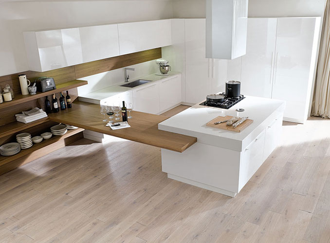 Les plans en quartz la solidit haut de gamme for Plan table de cuisine
