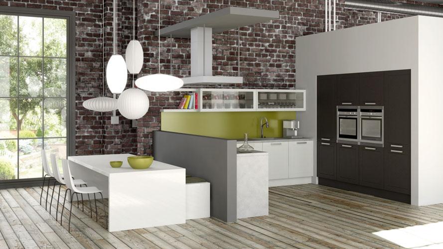 La cuisine ouverte le nouveau salon inspiration - Les dernier modele de cuisine ...