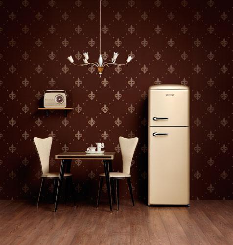 le style r tro tout en couleur inspiration cuisine le magazine de la cuisine quip e. Black Bedroom Furniture Sets. Home Design Ideas