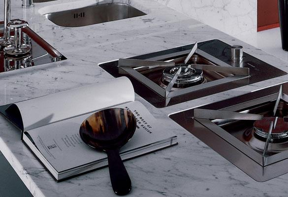 le marbre la sp cialit italienne inspiration cuisine le magazine de la cuisine quip e. Black Bedroom Furniture Sets. Home Design Ideas