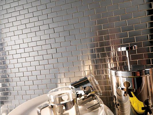 En cuisine le carrelage pr f re la cr dence inspiration - Mosaique autocollante pour cuisine ...
