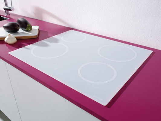 L 39 lectrom nager sobre et simple de gorenje inspiration - Table a induction blanche ...