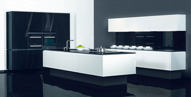 eurocucina 2010 les cuisines graphiques inspiration. Black Bedroom Furniture Sets. Home Design Ideas