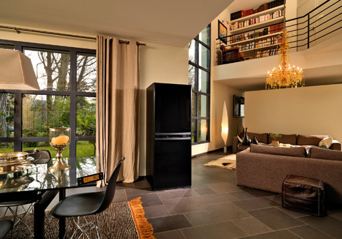 good with frigo americain avec cave a vin integre. Black Bedroom Furniture Sets. Home Design Ideas