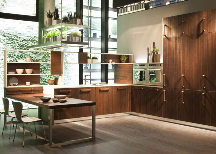 snaidero sublime le bois dans la cuisine inspiration cuisine le magazine de la cuisine quip e. Black Bedroom Furniture Sets. Home Design Ideas