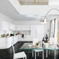 La cuisine blanche : l'élégante clarté