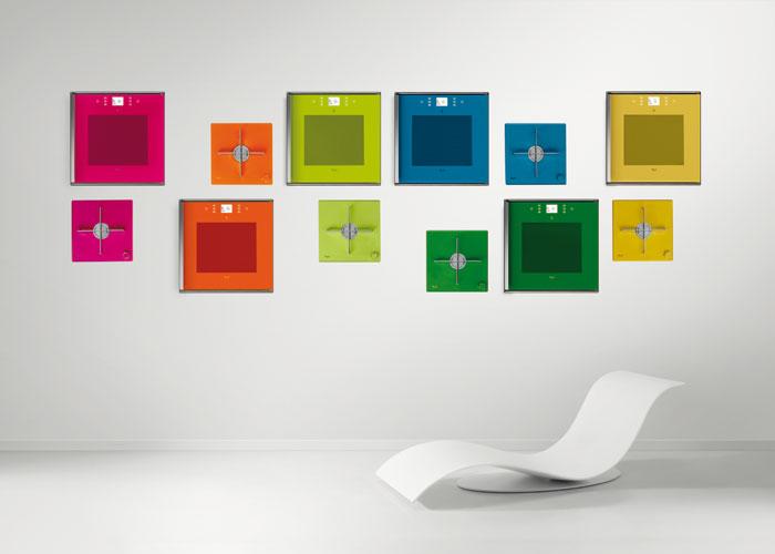 Une cuisine de toutes les couleurs inspiration cuisine le magazine de la cuisine quip e - Cuisine de couleur vert et oronge ...