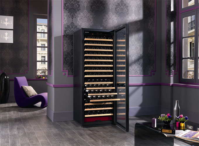 les nouvelles caves vin inspiration cuisine le magazine de la cuisine quip e. Black Bedroom Furniture Sets. Home Design Ideas