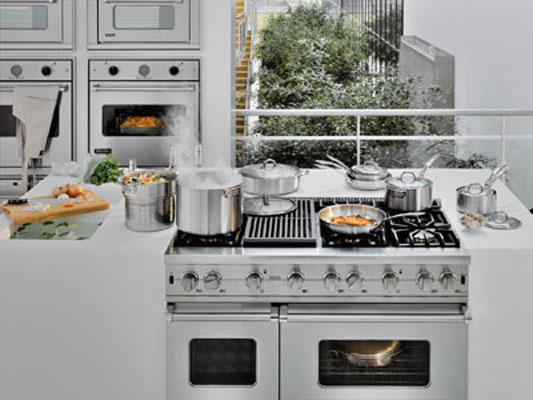 Des Fourneaux Pour Cuisiner Comme Des Chefs Inspiration Cuisine - Gaziniere 3 feux gaz pour idees de deco de cuisine