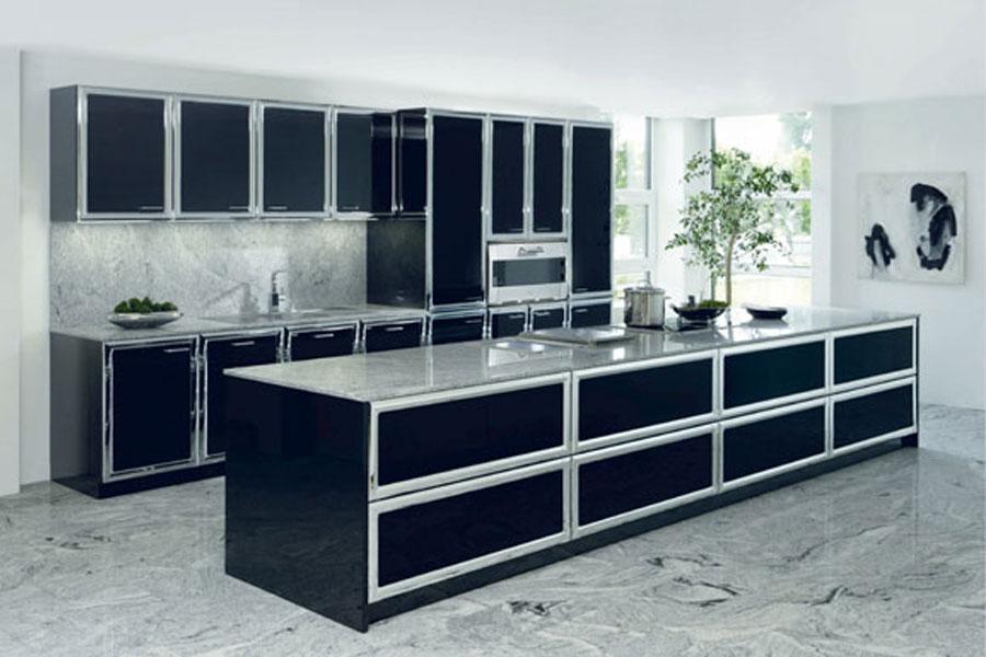 la cr dence impose son style inspiration cuisine le. Black Bedroom Furniture Sets. Home Design Ideas