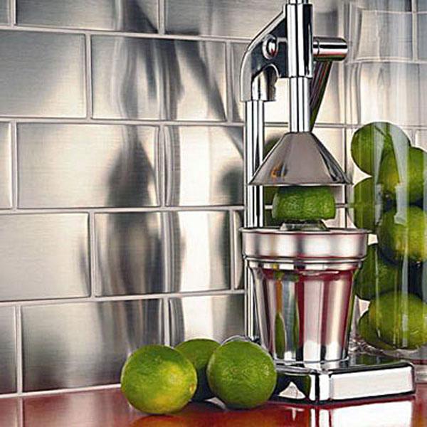 La cr dence impose son style inspiration cuisine le - Credence en carrelage pour cuisine ...