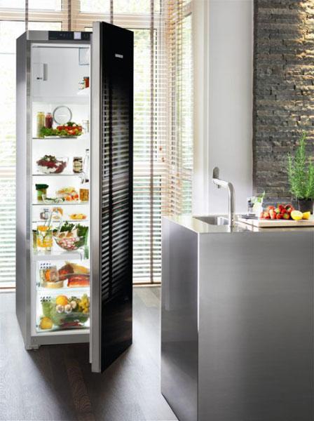 un r frig rateur au design chic inspiration cuisine le magazine de la cuisine quip e. Black Bedroom Furniture Sets. Home Design Ideas