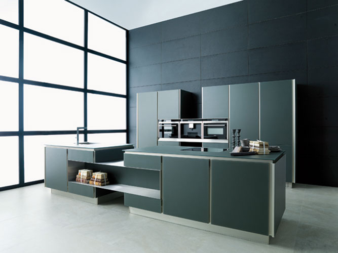 la cuisine en verre de porcelanosa inspiration cuisine le magazine de la cuisine quip e. Black Bedroom Furniture Sets. Home Design Ideas