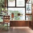 Snaidero sublime le bois dans la cuisine