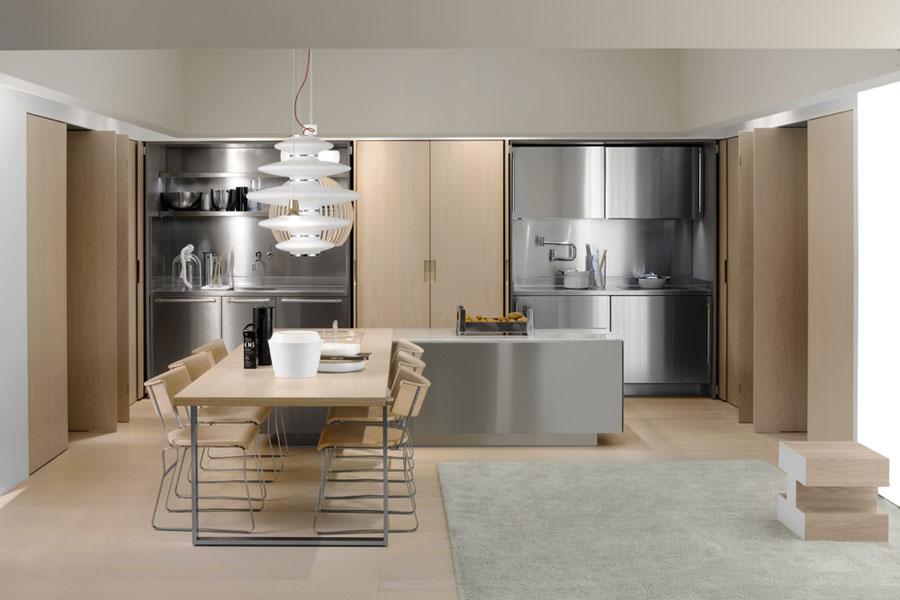Des cuisines haut de gamme tr s discr tes inspiration for Cuisines integrees haut de gamme