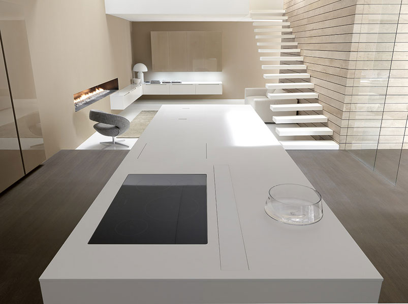 des cuisines haut de gamme tr s discr tes inspiration. Black Bedroom Furniture Sets. Home Design Ideas