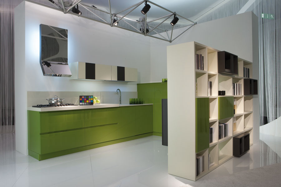 Leader cucine inspiration cuisine for Modele de separation entre cuisine et salon