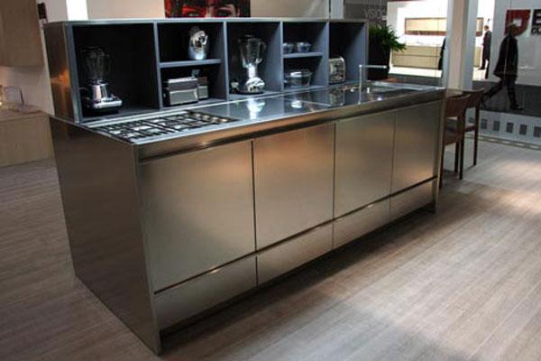 GattoVision de Gatto Cucine, cuisine discrète, cuisine haut de gamme, cuisine design, cuisine aménagée, cuisine épurée