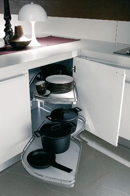 Bontempi, rangements cuisine, meubles de cuisine, meubles gain de place