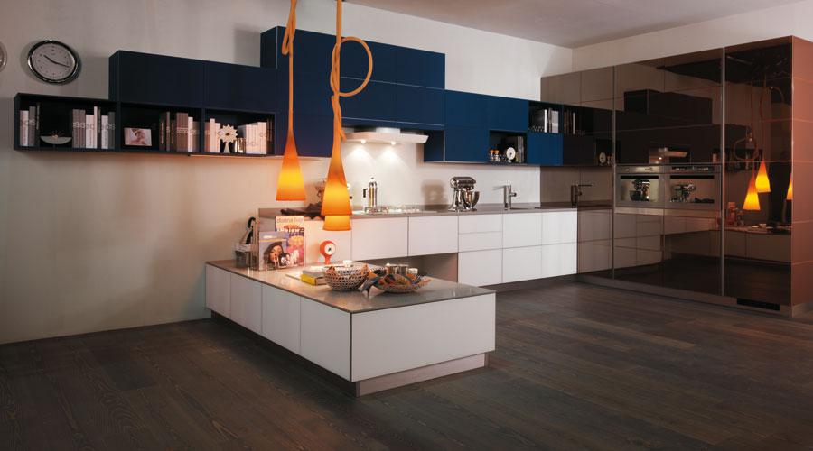 Tetrix de Scavolini-cuisine haut de gamme