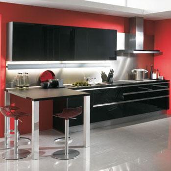 petite cuisine equipee pas chere maison design. Black Bedroom Furniture Sets. Home Design Ideas