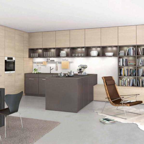 Les nouvelles cuisines design de Leicht  Inspiration cuisine