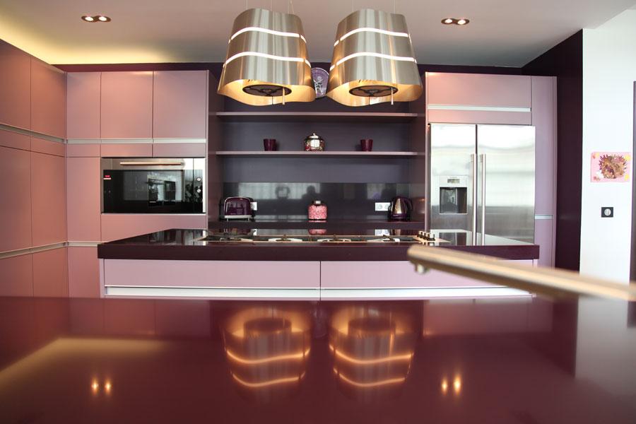 Cuisine design couleur for Couleur cuisine design