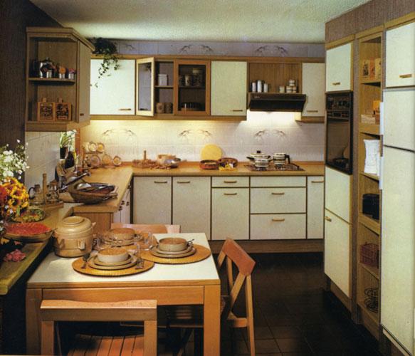 Xey en 1981-cuisine équipée