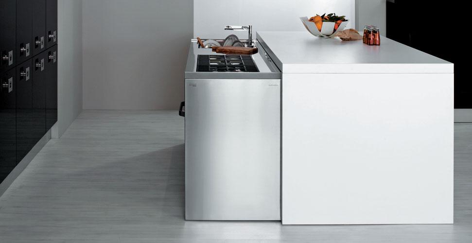 Met d 39 aran une solution pour les petites cuisines for Cuisine ilot petit espace