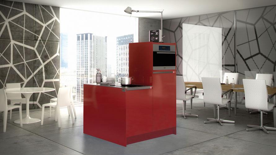 une cuisine compacte pour les petits espaces inspiration cuisine. Black Bedroom Furniture Sets. Home Design Ideas