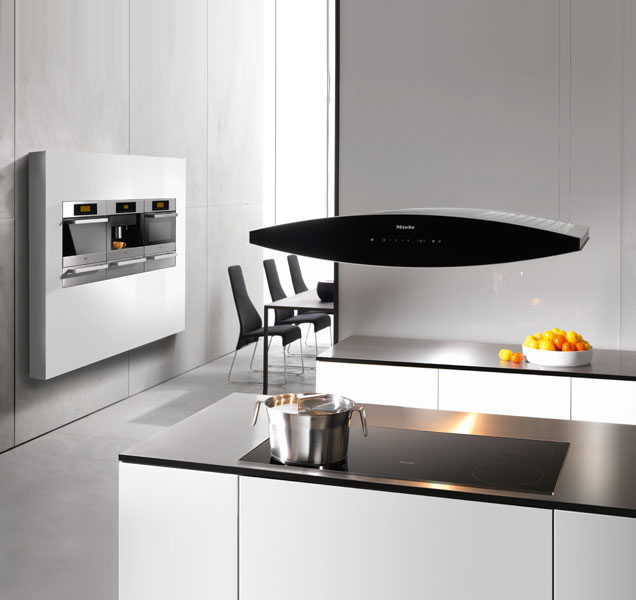 Design  Hotte Aspirante Cuisine Ilot Central  28