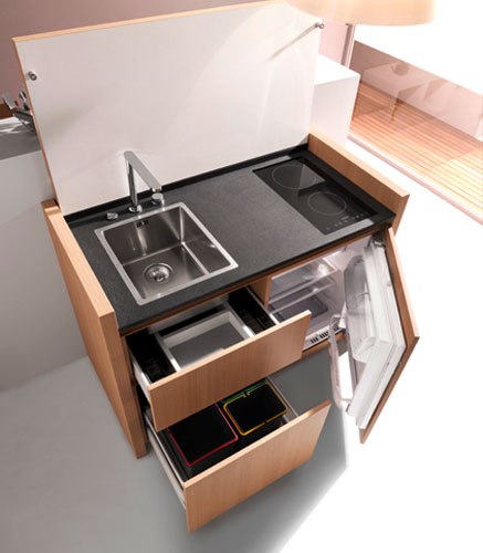 K1 de Kitchoo-cuisine compacte-mini cuisine