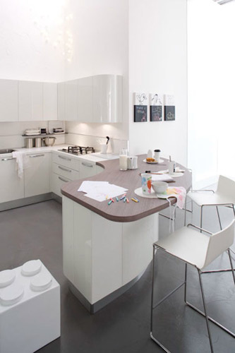 Extra tonda de Veneta Cucine-cuisine design