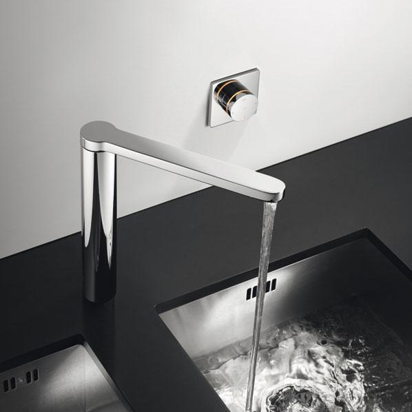 Un robinet commande lectronique sans fil inspiration cuisine - Robinet bulthaup ...