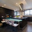 Une belle cuisine dans le salon