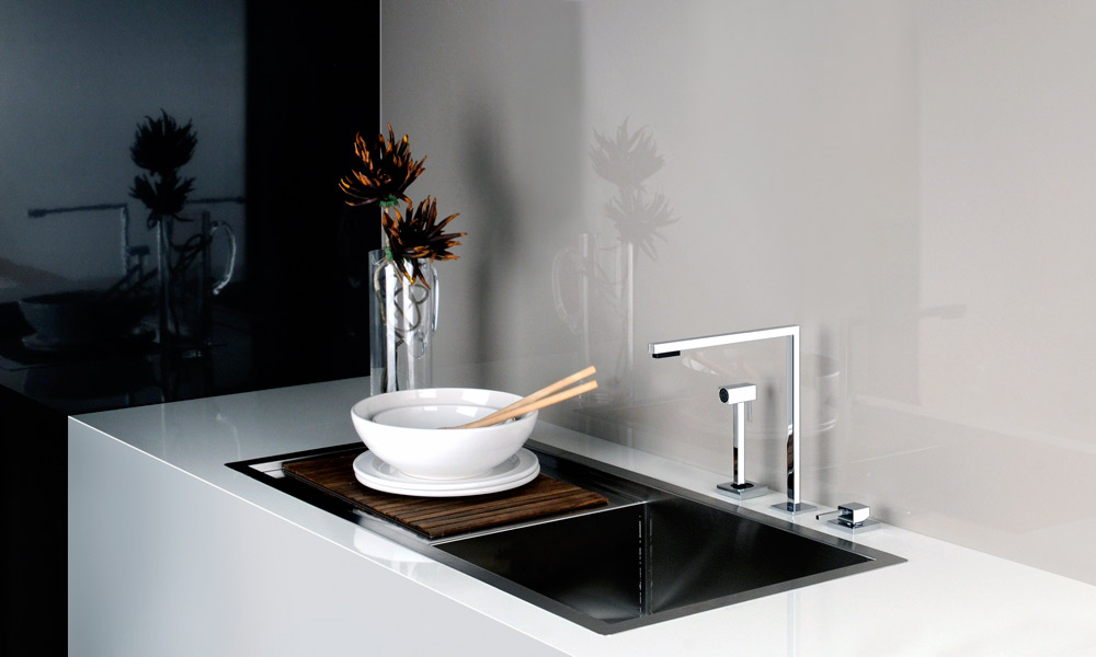 Des robinets design pour d corer sa cuisine inspiration cuisine - Robinet de cuisine design ...