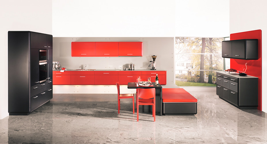 la cuisine rouge inspiration cuisine. Black Bedroom Furniture Sets. Home Design Ideas