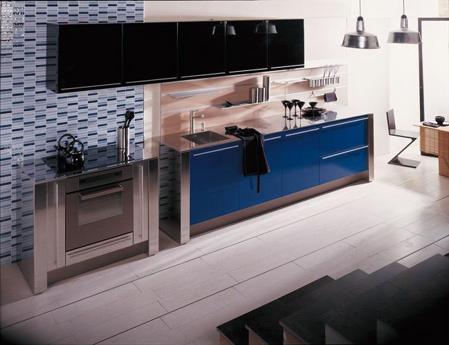 la cuisine bleue inspiration cuisine. Black Bedroom Furniture Sets. Home Design Ideas